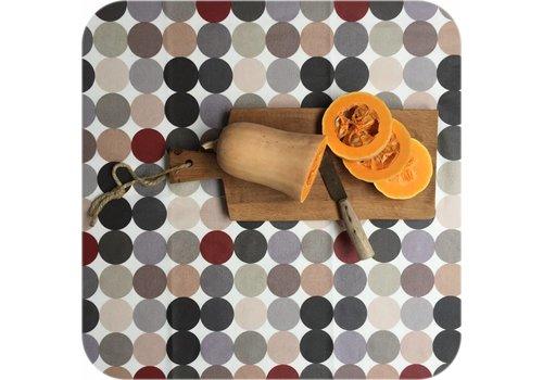 MixMamas Tafelkleed Gecoat Grote Stip - 140 x 250 cm