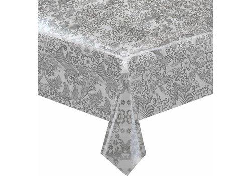MixMamas Tafelzeil Paraïso / Barok - 120 x 250 cm - Zilver