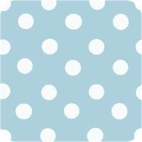 Tafelzeil Grote Stip - 140 x 300 cm - Lichtblauw/Wit