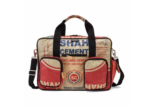 Used2b Used2b College bag Upcycled Cement Shah Rood