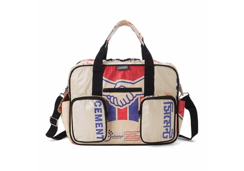 Used2b Used2b College bag Akij - Cement - 40 x 29 cm