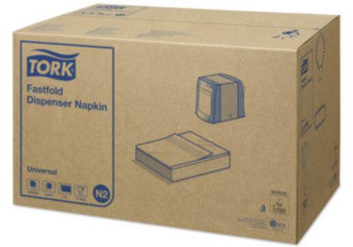 Tork Tork - Navulling dispenser servet - doos -36 x 300 stuks - Wit