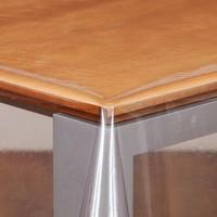Transparant Rond Tafelzeil - Ø 180 cm - zonder vouwen