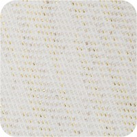 Tafelkleed Gecoat Jacquard Linnen - 140 x 250 cm - Crème/Goud