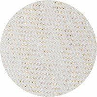 Rond Tafelkleed Gecoat - Ø 160 cm Linnen - Crème/Goud