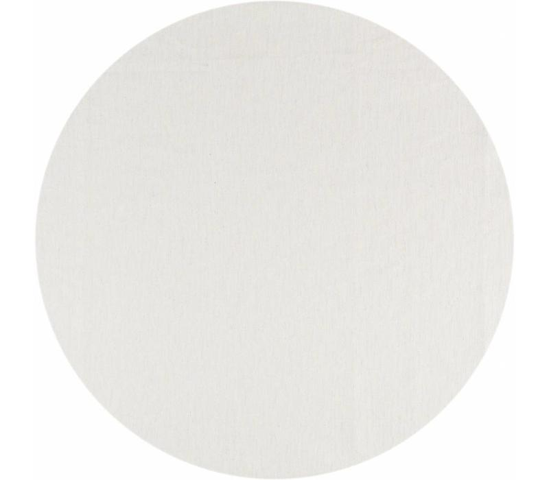 Rond Tafelkleed Gecoat Jacquard - Ø 160 cm -Linnen - Crème/Goud