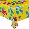 MixMamas Mexicaans Tafelzeil Aardbei - 120 x 270 cm - Geel