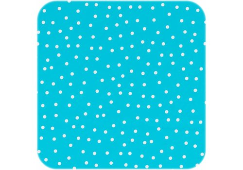 MixMamas Tafelzeil Stipjes - 140 x 250 cm - Blauw/Wit