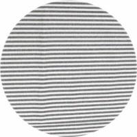 Rond Tafelkleed Gecoat - Ø 160 cm - Jacquard Strepen- Marineblauw