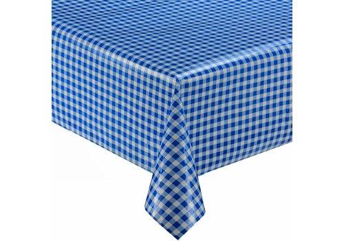 MixMamas Tafelzeil Ruitje - 120 x 300 cm - Rol - blauw