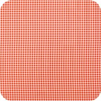 Mexicaans Tafelzeil Ruitje Vierkant - 120 x 120 cm - Oranje