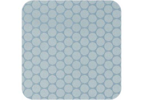 MixMamas Tafelkleed Gecoat Stippen - 140 x 250 cm - Oceaan Groen