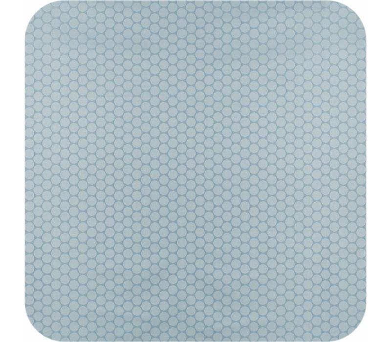 Tafelkleed Gecoat Jacquard Stippen - 140 x 250 cm - Oceaan Groen