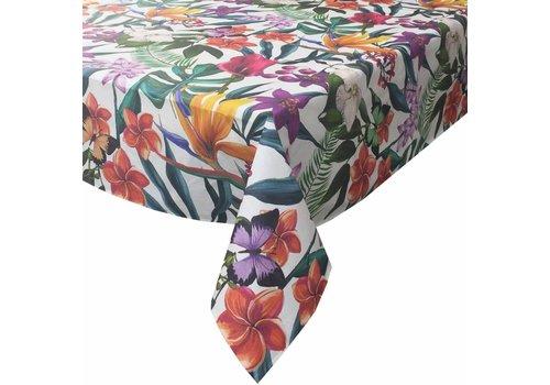 MixMamas Tafelkleed Gecoat Tropical- 140 x 250 cm