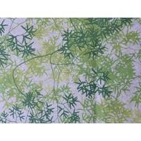 Tafelkleed Gecoat Tropical Green - 150 x 250 cm