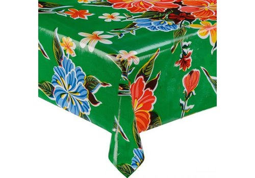 MixMamas Tafelzeil Fortin - 120 x 270 cm -Groen