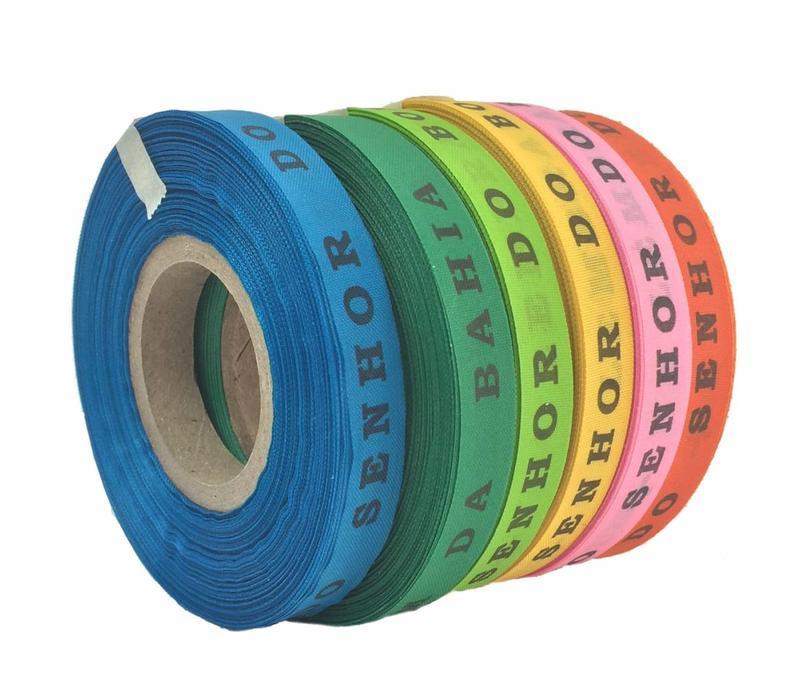 Bonfim Lint Rol 43 m - Mulitpack 6 stuks - Roze, Oranje, Geel, Groen, Blauw
