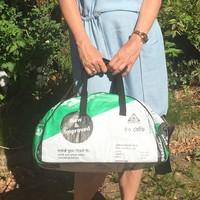 Used2b Bowling Bag Cement Lafarge groen