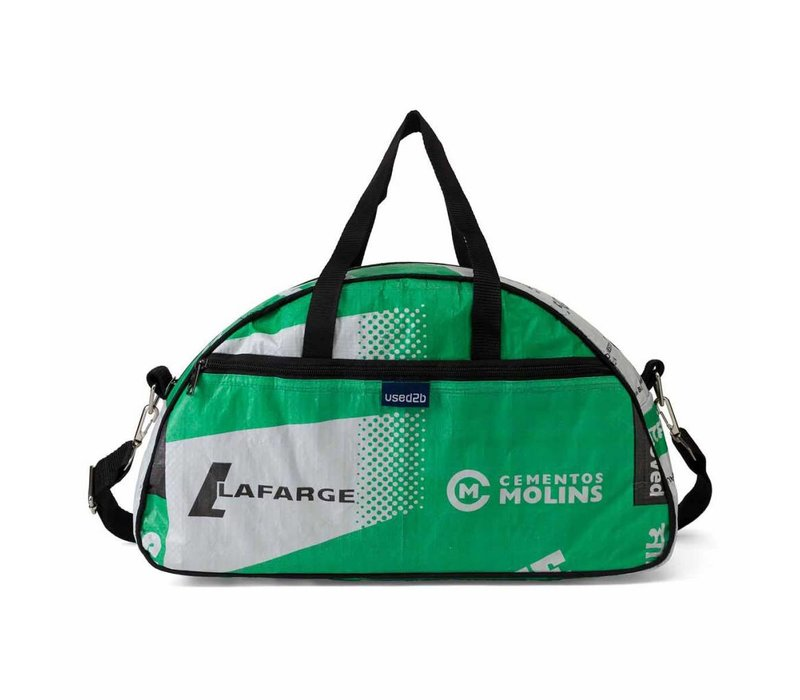 Used2b Bowling Bag Cement Lafarge groen