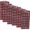 MixMamas Big Shopper Boodschappentas - 60 x 50 cm - Multipack 6 stuks - Rood