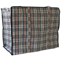 Big Shopper Boodschappentas - 60 x50 cm - 90 L - Set van 3 - Rood/Blauw/Zwart