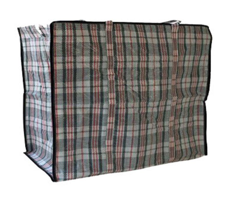 Big Shopper Boodschappentas - 60 x 50 cm - Set van 2 - Zwart