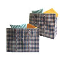 Big Shopper Boodschappentas - 60 x 50 cm - 90 L - Set van 2 - Blauw