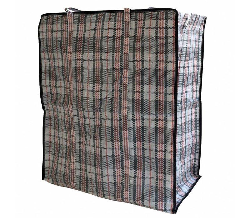 Big Shopper Boodschappentas - 55 x 65 cm - Multipack 10 stuks - Zwart