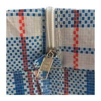 Big Shopper Boodschappentas - 55 x 65 cm - Set van 2 - Blauw