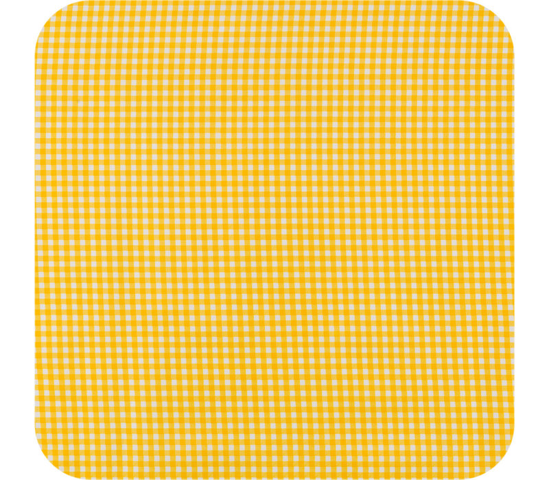 Tafelzeil Ruitje - 120 x 250 cm - Geel