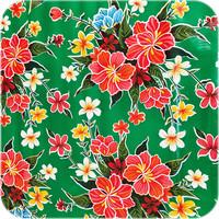 Mexicaans Tafelzeil Fortin Vierkant - 120 x 120 cm - Groen