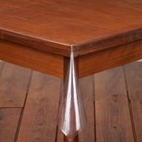 doorzichtig tafelzeil zonder vouwen
