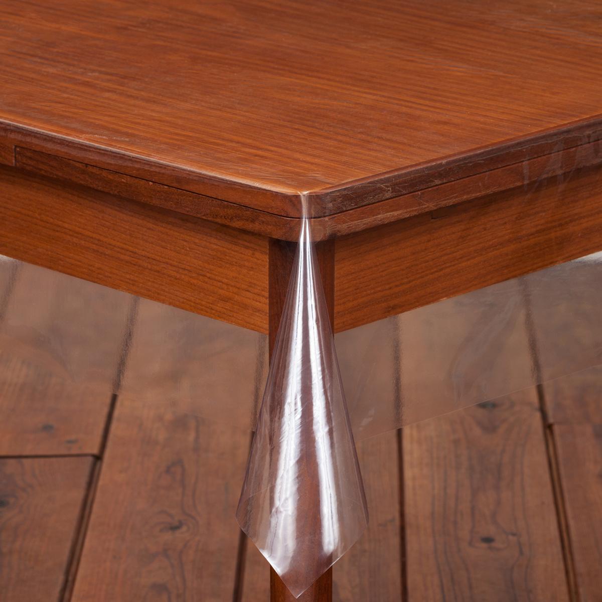 doorzichtig tafelzeil rond 180
