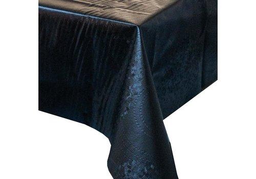 MixMamas Tafelzeil Zwart - 140 x 250 cm - abstract reliëf