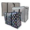 MixMamas Big Shopper Boodschappentas Modern - 60 x 45 cm - Set van 3