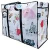 MixMamas Big Shopper met rits - 70 x 50  cm - Paris