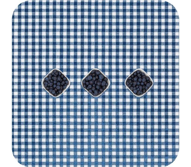 Tafelzeil Ruitje - 140 x 250 cm - Donkerblauw