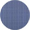 MixMamas Tafelzeil Rond - Ø 140 cm - Ruitje -Donkerblauw