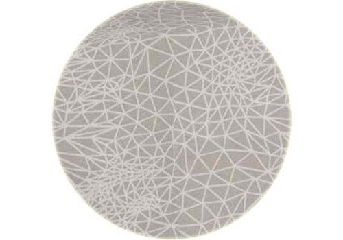 MixMamas Rond Tafelkleed Gecoat - Ø 180 cm - Infinity -Beige