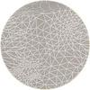 MixMamas Rond Tafelkleed Gecoat - Ø 140 cm - Infinity - Beige