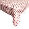 MixMamas Papieren Tafelkleed 50 stuks Ruit Rood/Wit