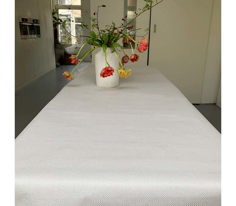 Papieren Tafelkleed op rol - 120 cm x 50 m - Wit