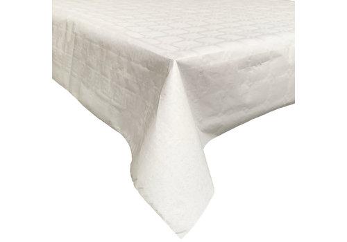 MixMamas Papieren Tafelkleed op rol - 120 cm x 7 m - Wit
