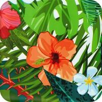 Tafelzeil 140 x 200 cm - Paradise Jungle