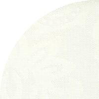 Rond Tafelkleed Gecoat Jacquard - Ø 160 cm - Barok Roomwit