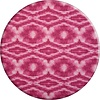 MixMamas Rond Tafelkleed Gecoat - Ø 160 cm - Tie Dye roze