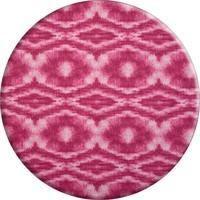 Rond Tafelkleed Gecoat - Ø 160 cm - Tie Dye roze