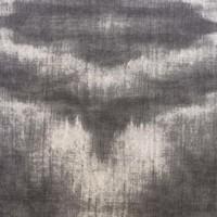 Rond Tafelkleed Gecoat - Ø 160 cm - Tie Dye Grijs