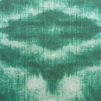 Rond Tafelkleed Gecoat - Ø 160 cm - Tie Dye Groen