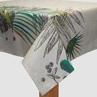 Tafelkleed Gecoat - 140 x 250 cm - Monstera Borders